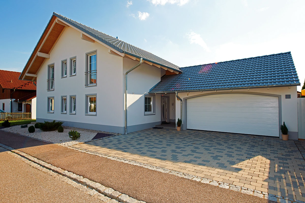 All inclusive bau bautr ger musterh user for Einfamilienhaus l form